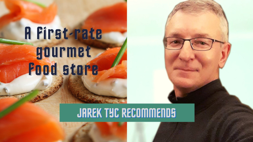 jarek recoomends gourmet store